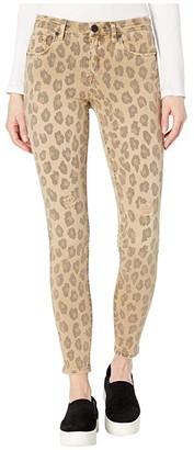 Blank NYC The Bond Mid-Rise Leopard Skinny in Jungle Cat (Jungle Cat) Women's Jeans
