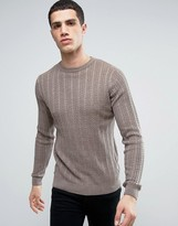 Tokyo Laundry Lightweight Cotton Cable Jumper