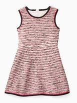 Kate Spade Toddlers knit tweed dress