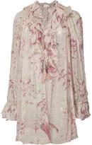 Zimmermann floral print blouse - women - Silk - 2