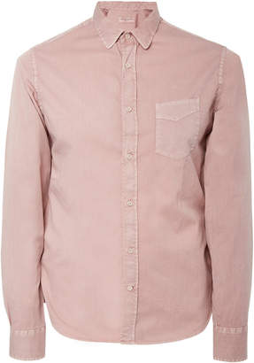 Officine Generale Cotton-Twill Button-Up Shirt