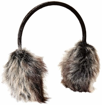Orchid Row Women's Fall Winter Chic Fashion and Trendy Faux Fur Earmuff Premium Fur Quality
