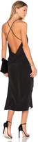 MLM Label Strapped Backless Midi Dress