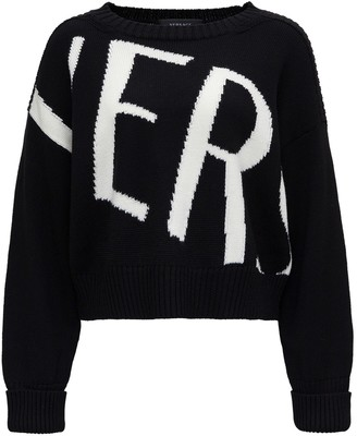 Versace Jumper With Logo