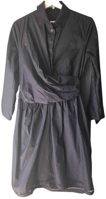 Carven Blue Cotton Dress for Women