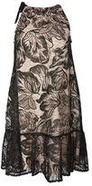 Topshop Tieneck swing dress