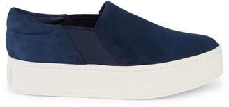 Vince Warren Suede Flatform Sneakers