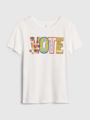 Gap The Collective Kid Boy Vote T-Shirt