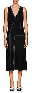 Derek Lam Women's Crepe Tank Dress - Black