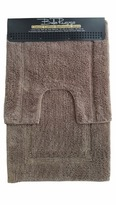 2 Piece Graphite Bath Mat Set