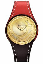 Salvatore Ferragamo Women's FID060015 GANCINO CHIC Analog Display Quartz Orange Watch