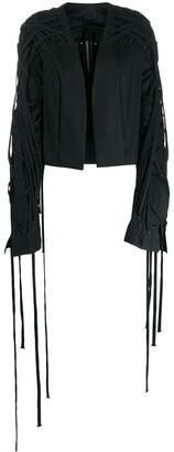 Rick Owens Fringe-Detail Jacket