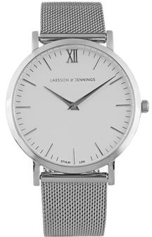 Larsson & Jennings Lugano Stainless-steel Watch - Mens - Silver Multi