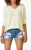 Forever 21 V-Neck Drop Sleeve Sweater