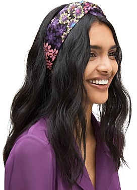 Kate Spade Pacific Petals Silk Headband