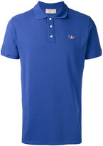 MAISON KITSUNÉ slim-fit polo shirt - men - Cotton - XS