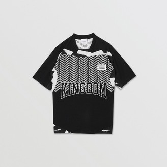Burberry Kingdom Print Mesh T-shirt