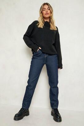 boohoo High Rise Mom Jeans