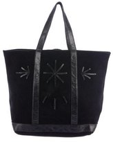 Vanessa Bruno Leather-Trimmed Tote