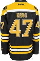 Reebok Men's Torey Krug Boston Bruins Premier Jersey