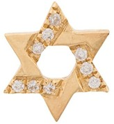 Loquet 18kt gold Diamond Star of David Charm necklace