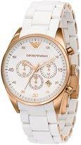 Emporio Armani Men's AR5920 Sportivo Silver Dial Watch