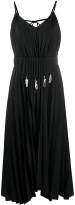 Atu Body Couture Portal detachable-corset pleated dress