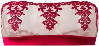 Fleur of England Wallflower strapless boudoir bra