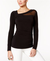 Thalia Sodi Asymmetrical Illusion Top, Only at Macy's