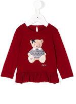 Lapin House - bear print T-shirt - kids - Spandex/Elastane/viscose - 12 mth
