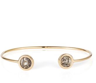 Dubini 18k Kings of Persis 2-Coin Bracelet