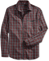Sean John Men's Big & Tall Plaid Shirt