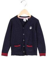 Petit Bateau Boys' Knit V-Neck Cardigan