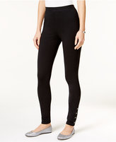 Style&Co. Style & Co Studded Skinny Leggings, Only at Macy's