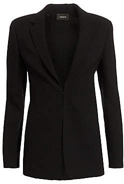 Akris Women's Notch Lapel Wool Blazer