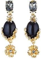Oscar de la Renta Women's 'Crystal Bouquet' Jewel Drop Earrings