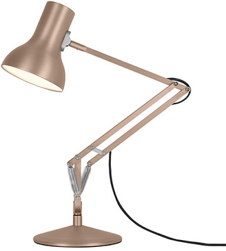 Anglepoise Type 75 Mini Metallic Desk Lamp - 3 Colours Available - SILVER - Silver