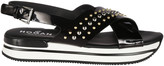 Hogan H257 Studded Sandals