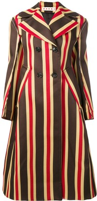 Marni striped coat