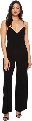 Norma Kamali Women's Slip Jumpsuit - Black - Large