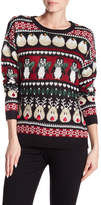 Cotton Emporium Reindeer Penguin Jingle Bell Sweater