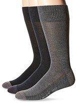Levi's Men's 3-Pack Solid Crew Socks
