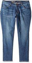 Lee Women's Plus-Size Modern Series Curvy-Fit Lexi Straight Jean
