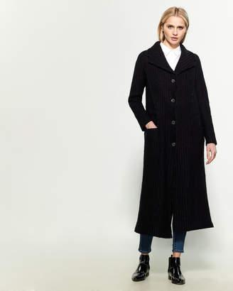 Transit Knitted Emphasized Waist Coat
