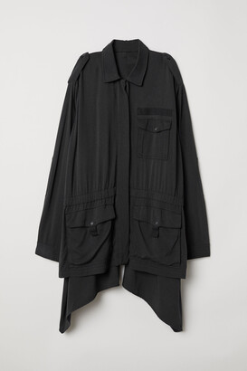 H&M Wide twill jacket