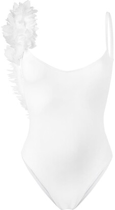 La Reveche Petals Applique Swimsuit