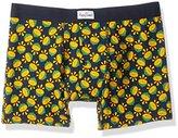 Happy Socks Men's 1 Pack Lime Boxer Brief