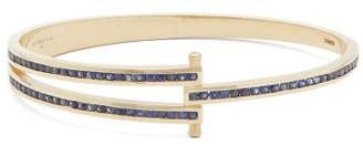 Retrouvai - Magna Diamond, Sapphire & 14kt Gold Bracelet - Womens - Blue Gold