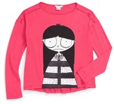 Little Marc Jacobs Girl's 'Essential Miss Marc' Tee