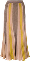Missoni glitter striped skirt